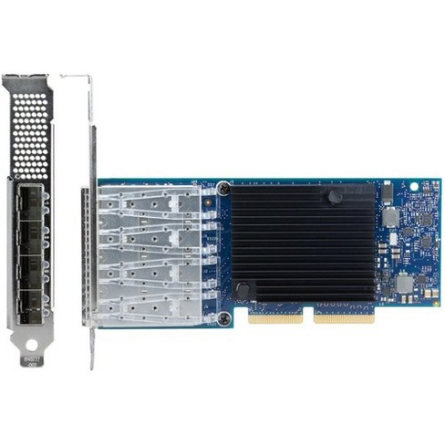 Lenovo Intel X710 ML2 4x10GbE SFP+ Adapter - PCI Express 3.0 x8 - 4 Port(s) - Optical Fiber - image 1 of 1