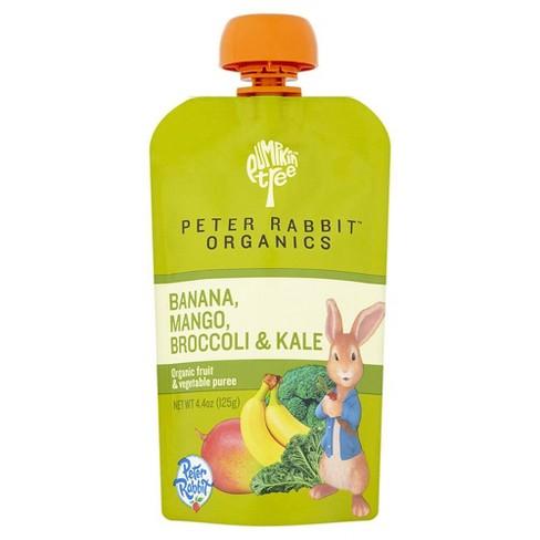 Peter Rabbit Organics Banana, Mango, Broccoli & Kale - 4.4oz - image 1 of 2