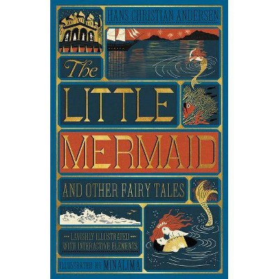Little Mermaid and Other Fairy Tales, the (Illustrated with Interactive Elements - by  Hans Christian Andersen (Hardcover)