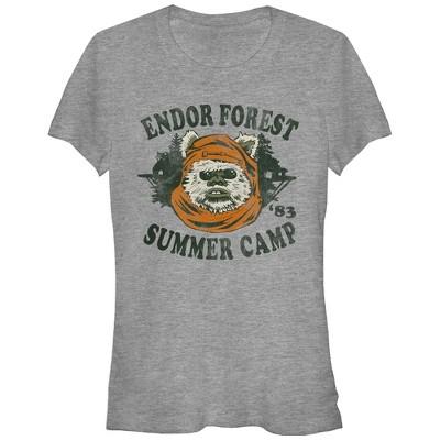 Junior's Star Wars Ewok Summer Camp T-Shirt