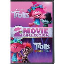 Trolls / Trolls World Tour 2-Movie Collection (DVD)
