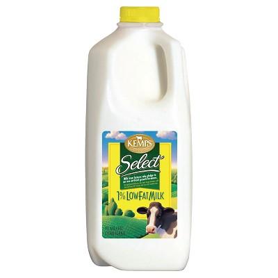 Kemps 1% Milk - 0.5gal