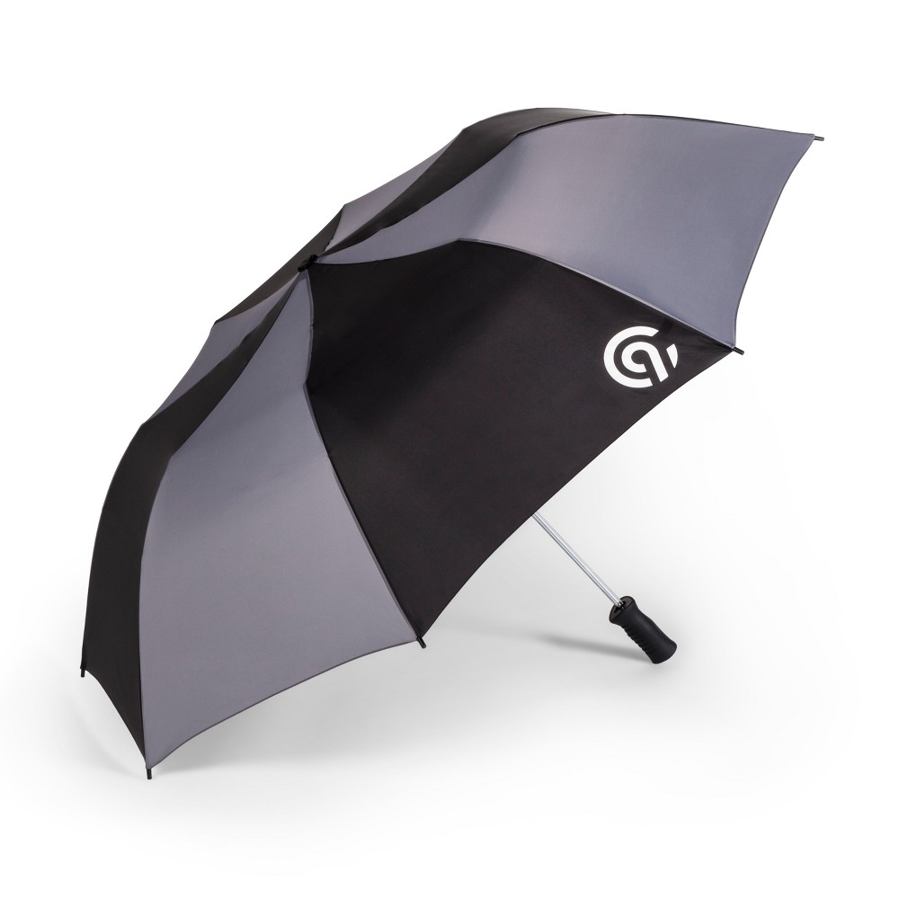 Image of UV Protection Colorblock Compact Umbrella - C9 Champion Black/Gray