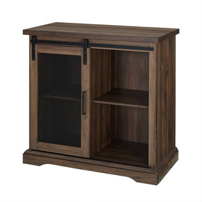 32  Farmhouse Buffet Dark Walnut - Saracina Home