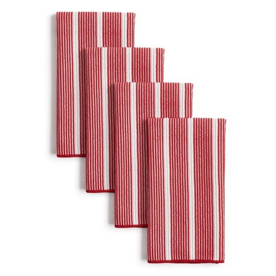 8pk Rainbow Striped Barmop Kitchen Towels - Town & Country Living