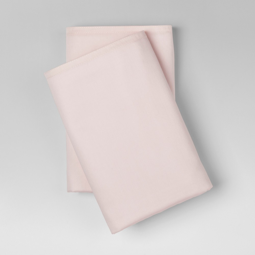 King 300 Thread Count Modern Solid Pillowcase Set Belle Pink - Project 62 + Nate Berkus was $19.99 now $13.99 (30.0% off)