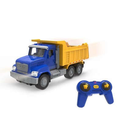 DRIVEN - Toy Dump Truck with Remote Control - Micro Series