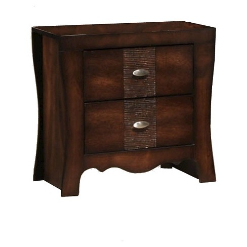 Aria 2-Drawer Nightstand Espresso - Picket House Furnishings - image 1 of 3