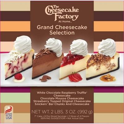The Cheesecake Factory Frozen Grand Cheesecake Selection - 32oz