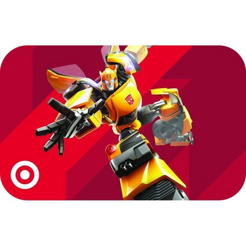 Autobot Transformer Target GiftCard - image 1 of 1