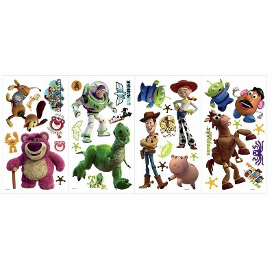 Toy Story 3 Peel and Stick Wall Decal - Glow In The Dark
