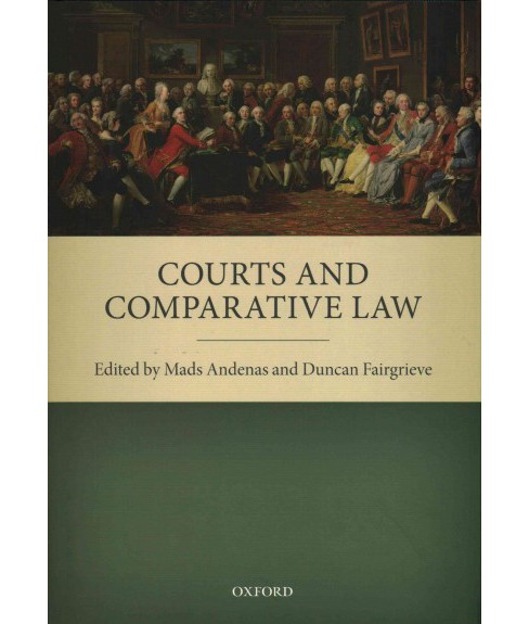 Courts and Comparative Law (Hardcover) - image 1 of 1