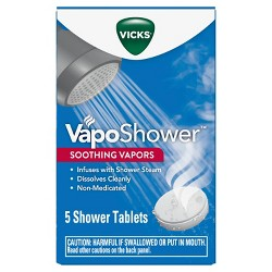 Vicks VapoShower Soothing Vapors Tablets - 5ct