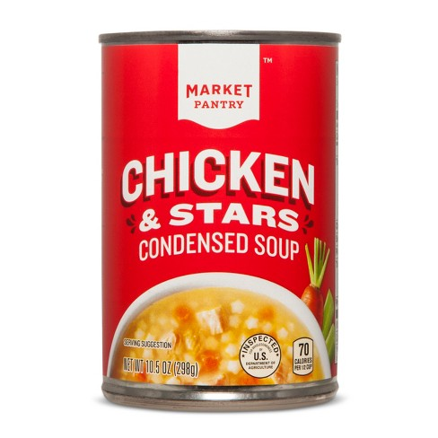 Chicken and Stars Condensed Soup - 10.5oz - Market Pantry™ - image 1 of 2