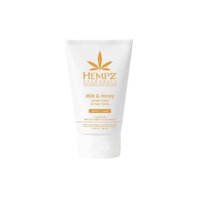 Hempz Aromabody Milk and Honey Herbal Hand and Foot Cream - 3.4 fl oz