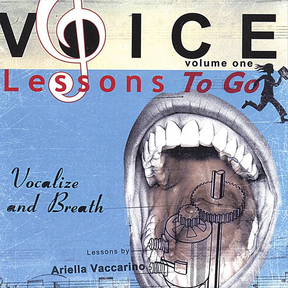 Ariella Vaccarino - Voice Lessons To Go:Vol 1 Vocalize (CD)