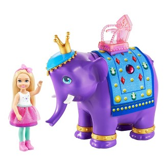 Barbie Dreamtopia Chelsea Doll and Elephant
