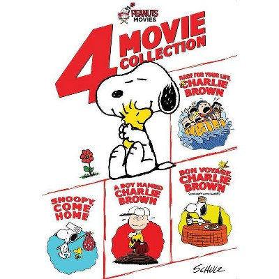Peanuts: 4 Movie Collection (DVD)