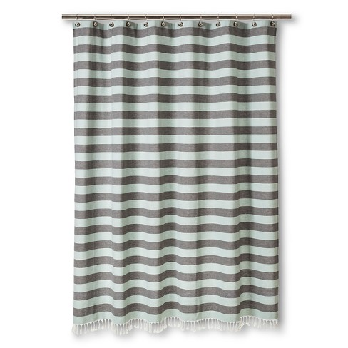 YD Stripe Shower Curtain