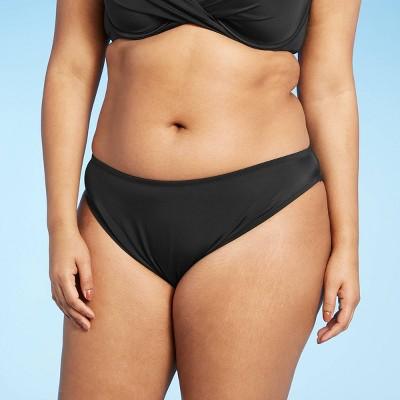 Women's Hipster Bikini Bottom - Shade & Shore™ Black