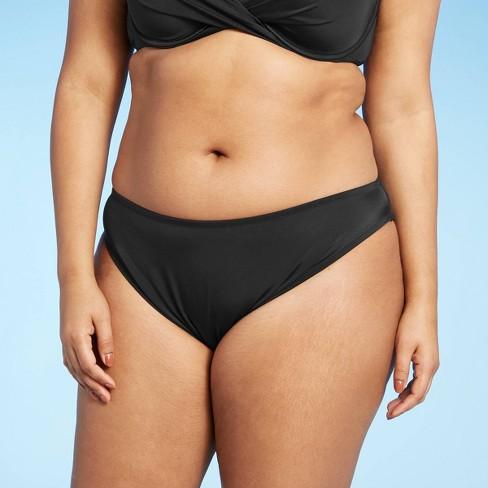 Women's Hipster Bikini Bottom - Shade & Shore™ Black - image 1 of 4