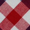 """Red & Blue Check Tablecloth (70""""Round) - Design Imports - image 3 of 4"""