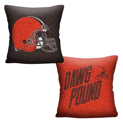 NFL Cleveland Browns Inverted Woven Pillow