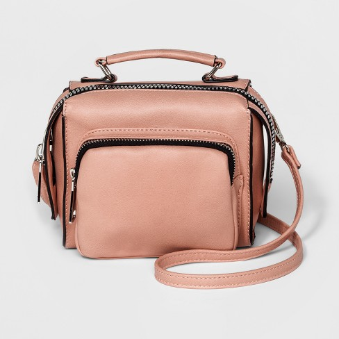 Under One Sky Big Zipper Crossbody Bag - image 1 of 3