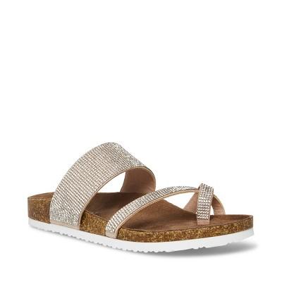 Madden Girl Women's Base-R Slide-on Sandal