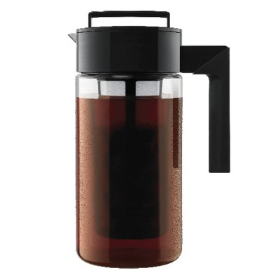 Takeya One Quart Patented Deluxe Cold Brew Coffee Maker-Black