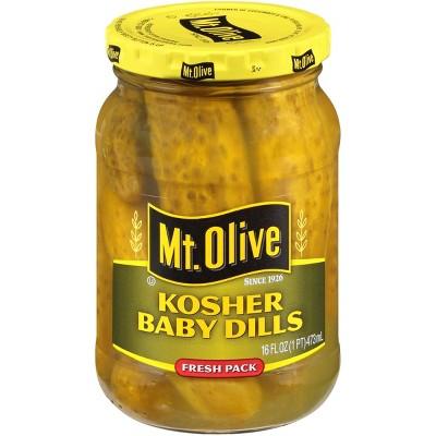 Mt. Olive Kosher Baby Dills - 16oz