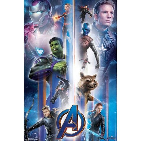 "34""x23"" Avengers: Endgame Iconic Unframed Wall Poster Print - Trends International - image 1 of 2"