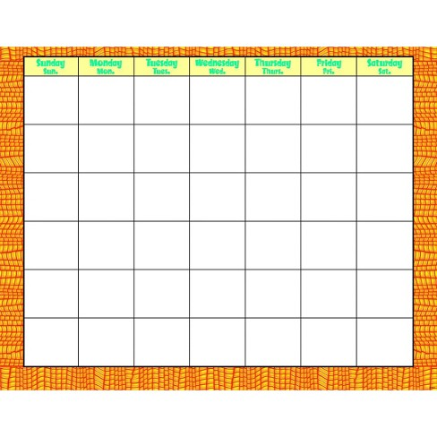 Trend Enterprises Discovering Dinosaurs Wipe Off Calendar, 22 L x 28 W in. - image 1 of 1
