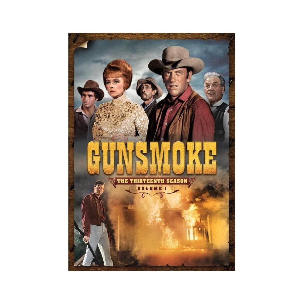 Gunsmoke The Thirteenth Season Volume 1 Dvd