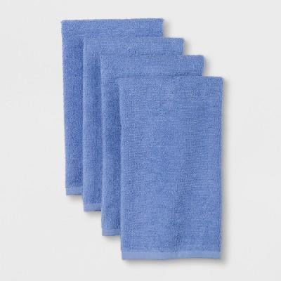4pk Kitchen Towel Blue - Room Essentials™
