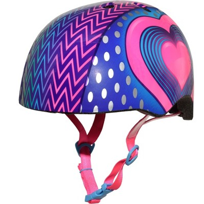 Raskullz LED Hearts Straps Child Bike Helmet