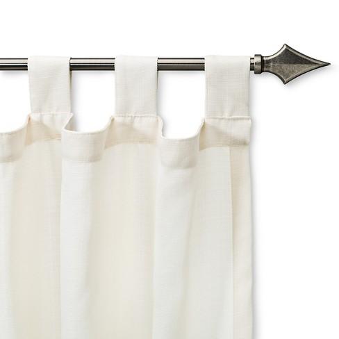 "Single curtain rod white (28-48"") room essentials™: target."