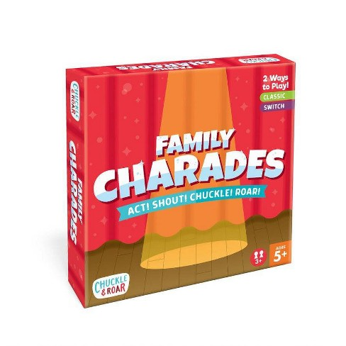 Chuckle & Roar Family Charades Game - image 1 of 4