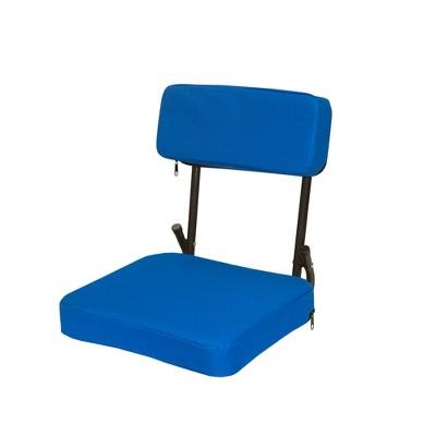 Stansport Steel Frame Foldable Coliseum Seat - Blue