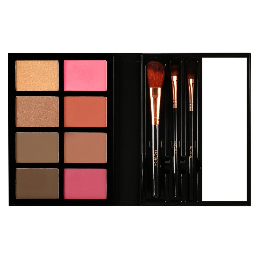 Profusion Cosmetics Trendsetter Blush & Bronzer Palette - 36g, Multi-Colored