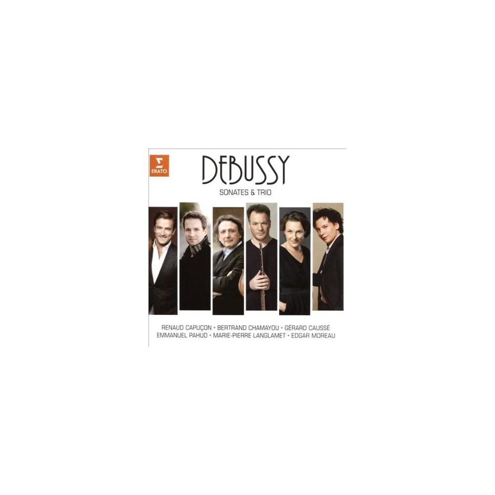Renaud Capucon - Debussy:Sonatas & Trios (CD)
