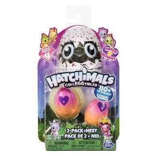 Hatchimals CollEGGtibles 2pk plus Nest