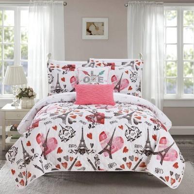 Chic Home Design Matisse Quilt & Sham Set