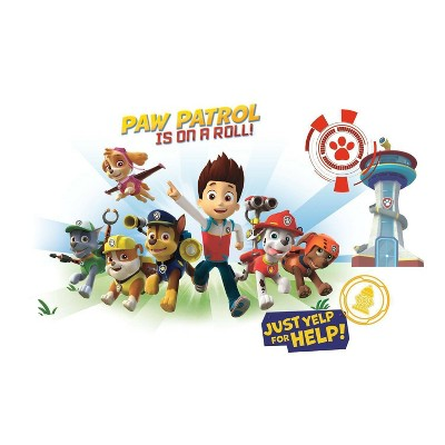 PAW Patrol Wall Graphix Peel and Stick Giant Wall Decal