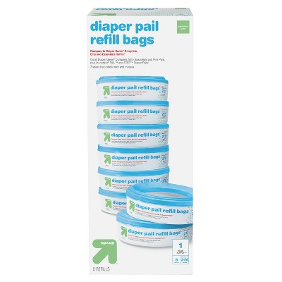 Diaper Pail Refill Bags - 8pk - up & up™