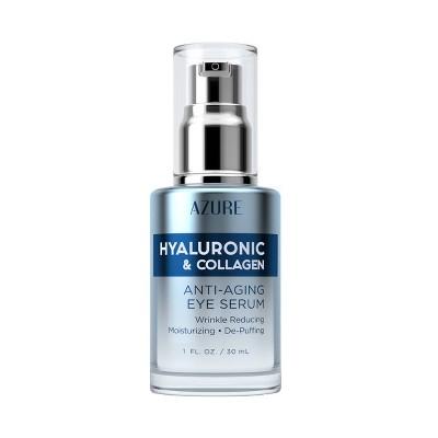 Azure Skincare Hyaluronic & Collagen Anti-Aging Serum - 50ml