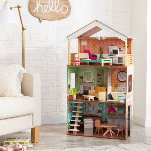 Kidkraft Vintage Luxe Dottie Dollhouse Target