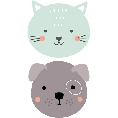 Cat and Dog Placemat Set of 2 - A & A Story
