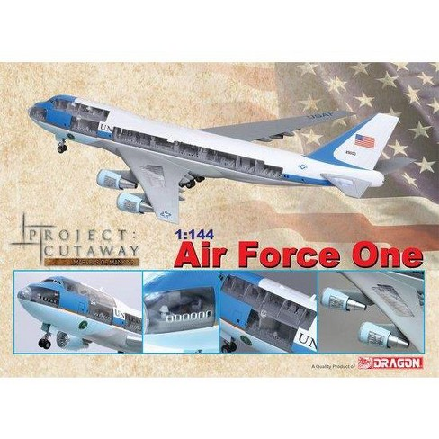 Air Force One - Boeing VC-25A (747-200b) Miniatures Box Set - image 1 of 1