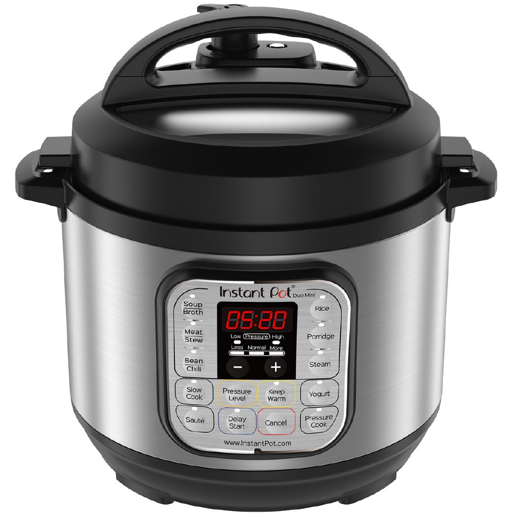 Instant Pot Duo Mini 3qt Pressure Cooker, Silver 52460579